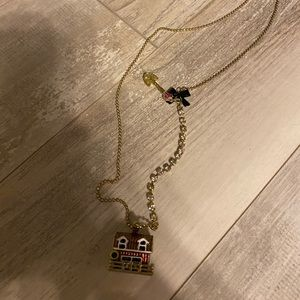 Betsey Johnson barn necklace
